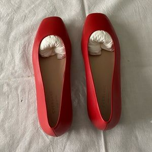 Everlane 90's Red Flats